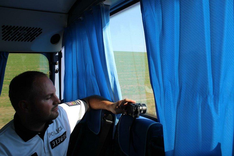 Policisté se zaměřili na kontrolu vozidel v provozu