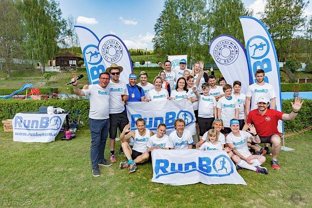RunBo Team stojí za organizací závodu snázvem Vratislavický Běhoun. Na snímku zakládající členové skupiny.