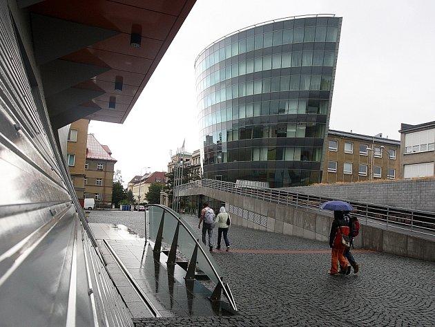 Budova Informačního centra TUL. Ilustrační foto