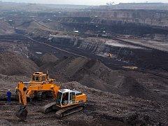 Povrchový důl Turów.