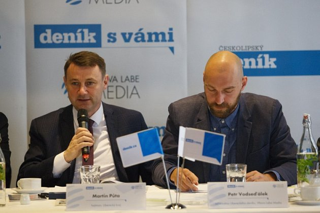 Setkání shejtmanem Libereckého kraje na téma Studuj tady, pracuj tady – podpora technického vzdělávání vLibereckém kraji.