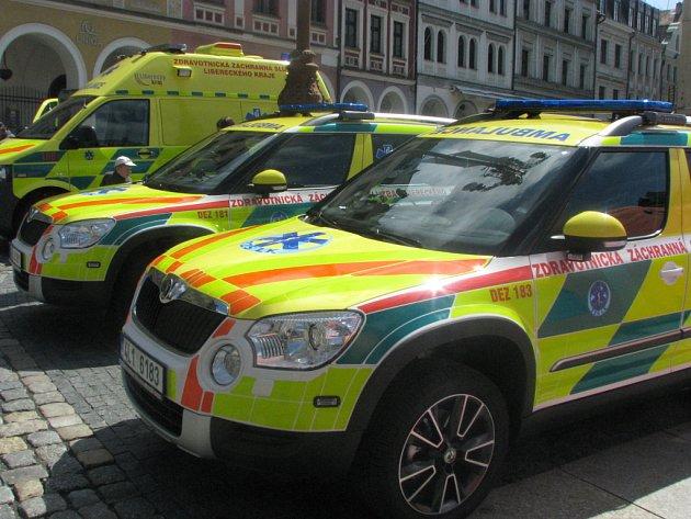 Nové vozy Zdravotnicé záchranné služby nahradí dosluhující octavie.