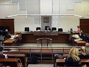 Exprimátor Jiří Kittner u soudu v Liberci.
