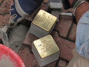 V Liberci je dalších šest nových Kamenů Zmizelých