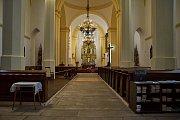 Kostel svatého Antonína Velikého prochází opravami.