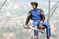 KAM AŽ VYSTOUPÁ? Pavel Churavý skončil v celkovém hodnocení Světového poháru 2008–2009 desátý. Nyní jej čeká velká olympijská výzva.