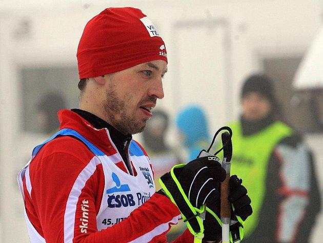 Martin Koukal na Jizerské 50.