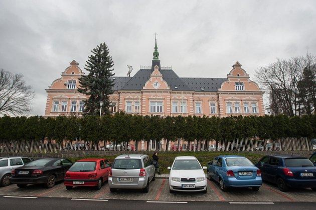 Areál nemocnice ve Frýdlantu.