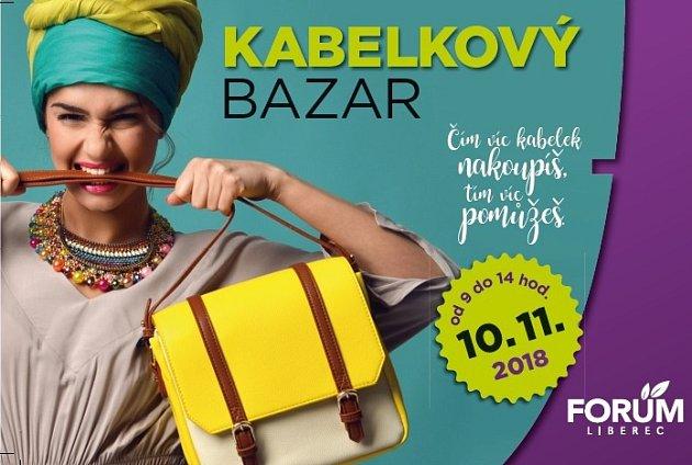 Leták na Kabelkový bazar 2018.