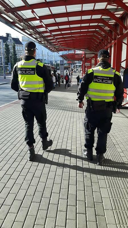 Městská policie Liberec.