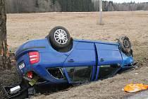 Vážná dopravní nehoda na Frýdlantsku si vyžádala těžké zranění.