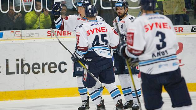 Tygři se radovali proti Plzni sedmkrát. Liberec vyhrál 7:1.