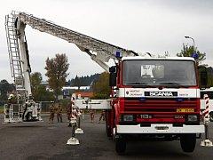 Jordánští vojáci strávili dva dny u profesionálních hasičů.