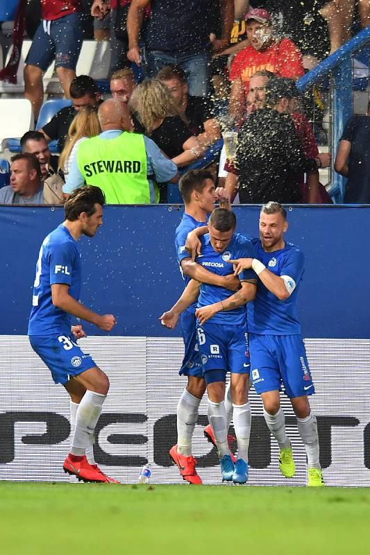 FC Slovan Liberec - AC Sparta Praha (I.poločas) 1:0.