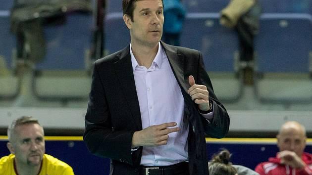 Trenér libereckých volejbalistů Michal Nekola.