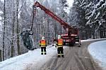 Dopravní nehoda v části obce Kozákov.