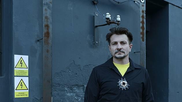 Výtvarník Martin J. Pouzar z Jablonce nad Nisou.