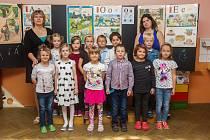 Prvňáci ze Základní školy Křižany - Žibřidice se fotili 25. září do projektu Naši prvňáci.