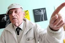 Výtvarník, grafik a fotograf světového formátu Ladislav Postupa.