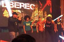 MOMENTKA Z MEXIKA. Liberec byl představen při soutěži na velkoplošné obrazovce díky TV Azteca, kterou sleduje 40 milionů diváků.
