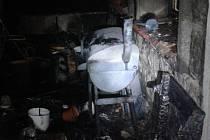 V Liberci hořelo na balkoně