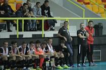 Futsalisté Liberce při utkání se Slavií.