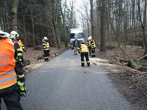 Výjezdy hasičů Libereckého kraje v úterý 9. ledna 2018