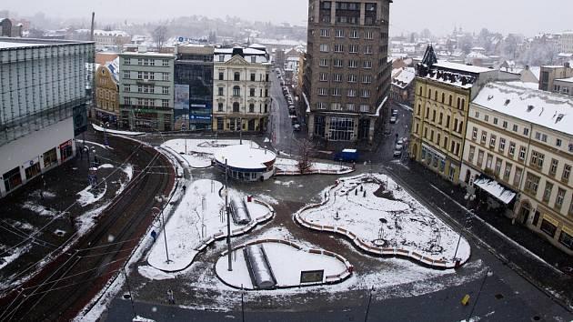 Soukenné náměstí po rekonstrukci.