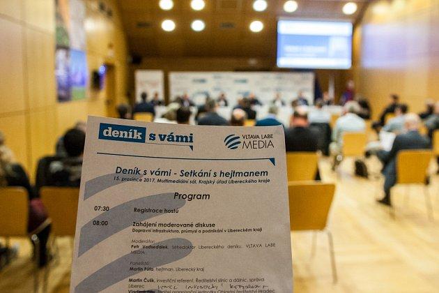 Program Setkání shejtmanem vLibereckém kraji 2017.
