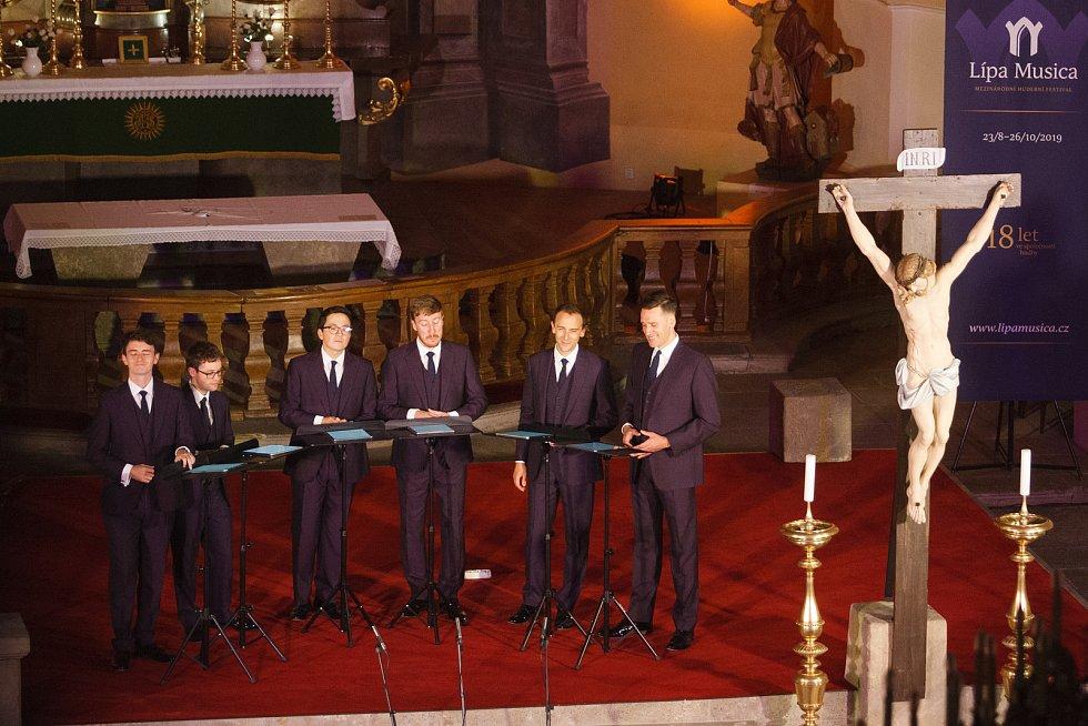 Vokální sextet z Velké Británie The King's Singers zahájil 17. září v hejnickém chrámu Navštívení Panny Marie již 18. ročník Mezinárodního hudebního festivalu Lípa Musica.