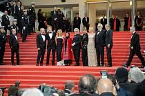 Závěrečný ceremoniál v Cannes.