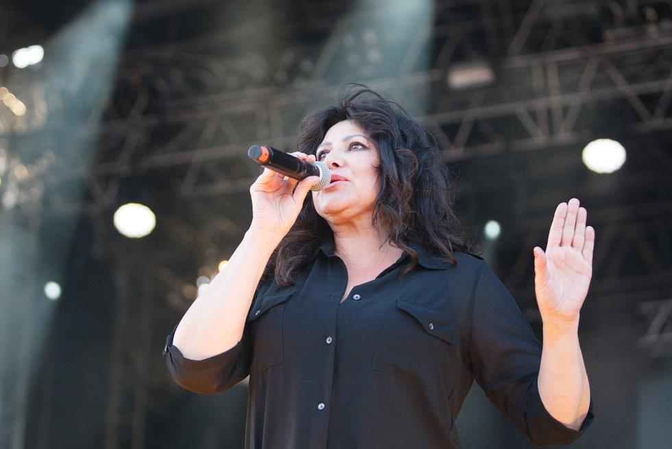 Festival Benátská! v libereckém Vesci. Na snímku Ilona Csáková