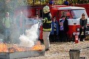 Školení učitelů základních škol a víceletých gymnázií zaměřené na problematiku ochrany člověka za běžných rizik a mimořádných událostí proběhlo 16. října na stanici HZS Libereckého kraje v Liberci.