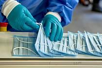 Linka na výrobu nanoroušky.