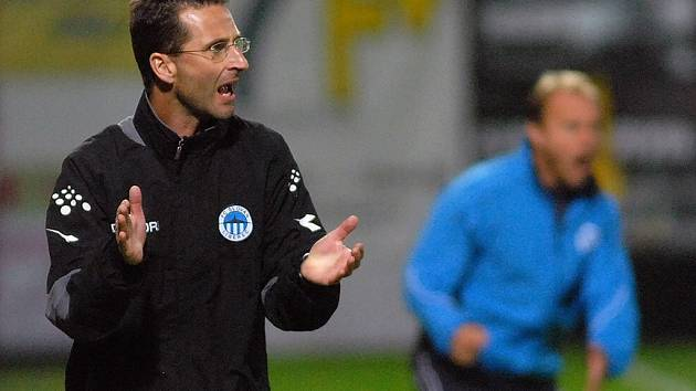 Liberecký trenér Michal Zach.