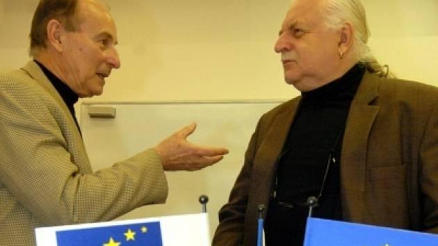 Přednáška prof.Milana Knížáka a doc.Michala Giboda na téma Věda a kreativita.