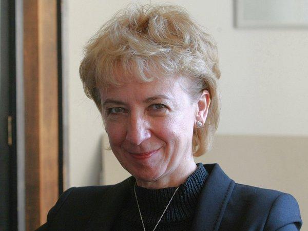 Kandidátka na hejtmanku za ODS Eva Bartoňová.