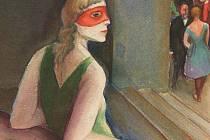 Erwin Müller často maloval bezejmennou dívku (na obrázku).