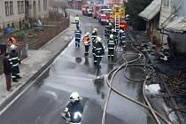 TŘETINU OBJEKTU se podařilo hasičům uchránit.