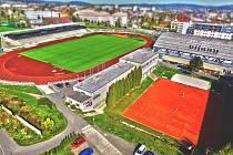 Areál Sport Parku Liberec.