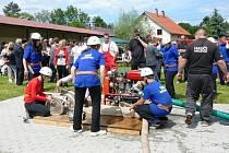 Okrsková hasičská soutěž v Příšovicích.