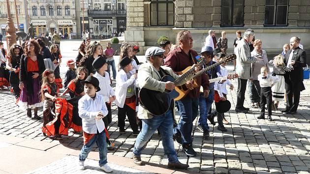 Romové slavili svůj mezinárodní den v Liberci.