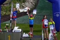 Skvělý úspěch liberecké skokanky na lyžích Natálie Nejedlové