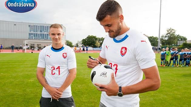ONDRÁŠOVKA CUP. Vpravo Matěj Chaluš.