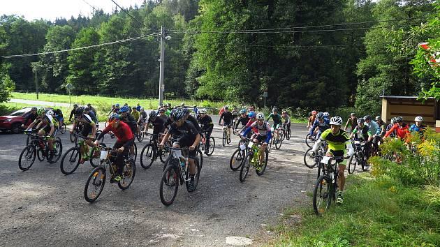 Středoškoláci soutěžili na Maliníku.