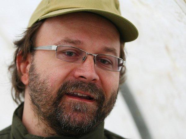 archeolog Severočeského muzea Petr Brestovanský.