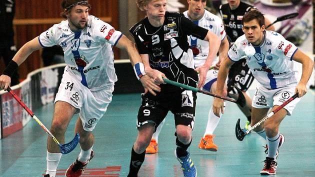 Hráč Liberce uprostřed. Ilustrační foto