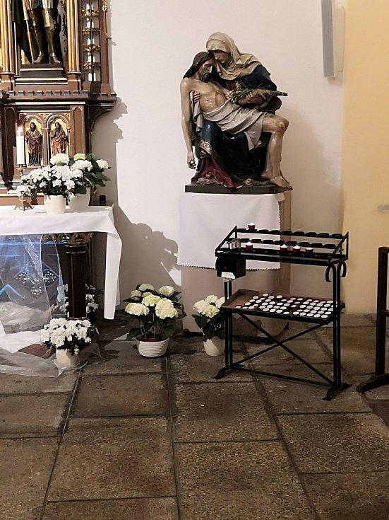 Kostel svatého Antonína v Liberci.