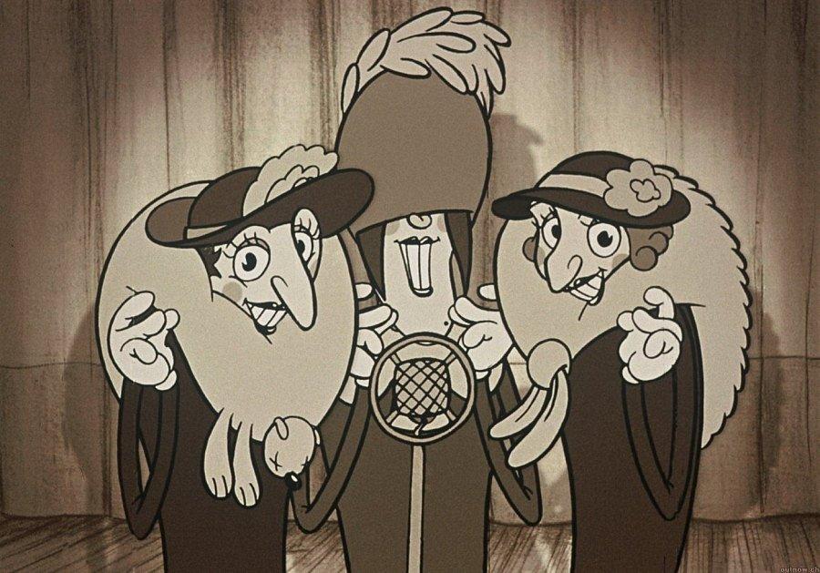 Trio z Belleville.