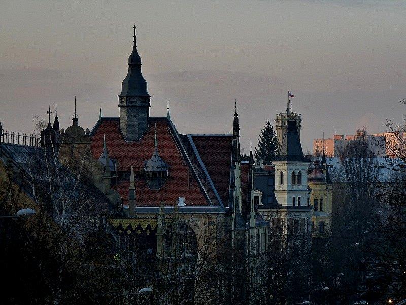 Liberecká zákoutí a ulice.